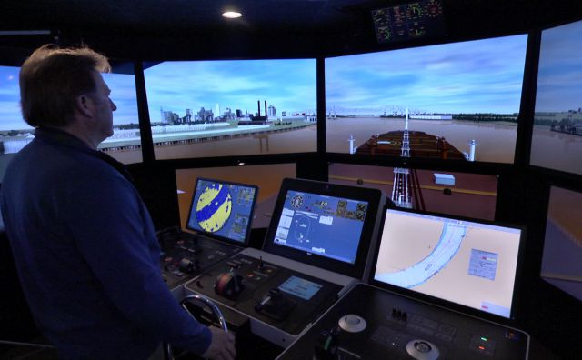 Kongsberg Ship Simulator 01 Maritime Pilots Institute